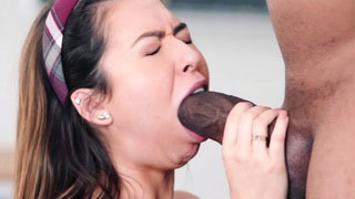 This Is Too Much For Her, This Sweetie Takes Only Half BBC