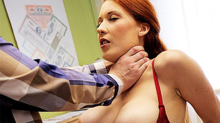 Redhead Makes Some Cock Magic At The Xxxnx Casting