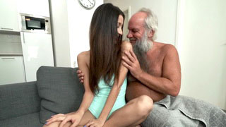 Xnxx HD Hottie Gets Jizzed By Grandpa Xnxc Porn