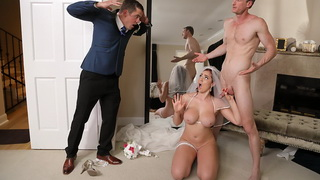 Xnx Father In Law Bangs XXX Bride Before Wedding Sex Video